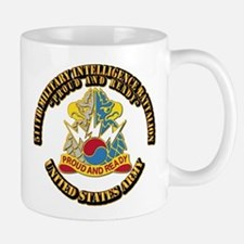 DUI - 511th Military Intelligence Bn With Text Mug