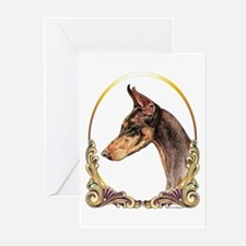 Doberman Pinscher Xmas/Holiday Greeting Cards (Pac