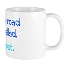 less-travelled_rect1 Mug