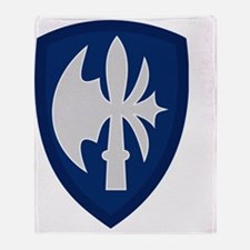 65th Infantry Division Throw Blanket