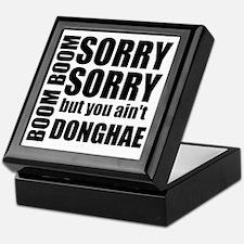 sorry sorry Keepsake Box