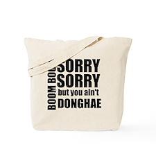 sorry sorry Tote Bag