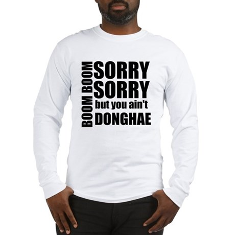 sorry sorry Long Sleeve T-Shirt