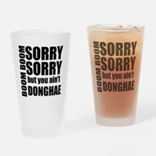 sorry sorry Drinking Glass