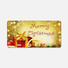 Christmas.gif Aluminum License Plate