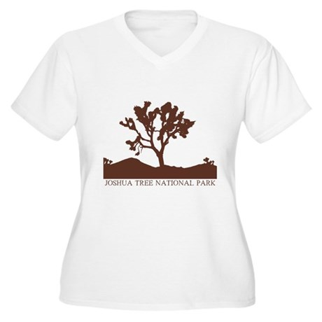 2-brownJtreeSilh Plus Size T-Shirt
