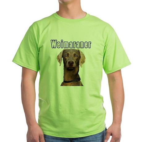 THE Weimaraner Green T-Shirt