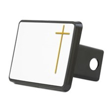 John 16-33 Yellow Cross Wh Hitch Cover