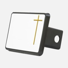 John 16-33 Yellow Cross Wh Hitch Cover