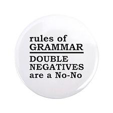 "Rules Of Grammar 3.5"" Button"