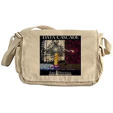 Ars Divina Data Cascade Artwork Messenger Bag