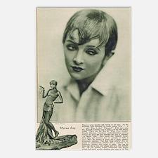 Myrna Loy 1925 Postcards (Package of 8)