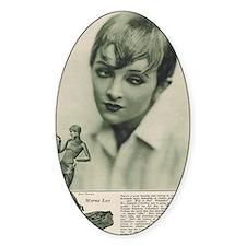Myrna Loy 1925 Decal