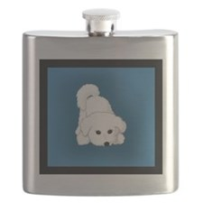 Puppy Play Bow-small Flask