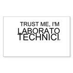 Trust Me, Im A Laboratory Technician Sticker