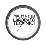 Trust Me, Im A Laboratory Technician Wall Clock