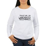 Trust Me, Im A Laboratory Technician Long Sleeve T