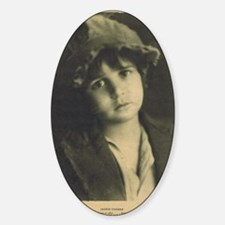 Jackie Coogan 1922 Sticker (Oval)