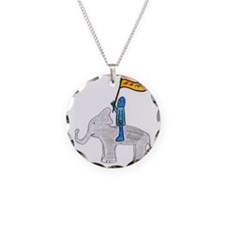 The Blue Knight Necklace