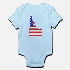 Idaho Flag Infant Bodysuit