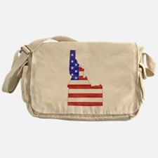 Idaho Flag Messenger Bag