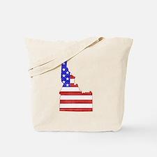 Idaho Flag Tote Bag