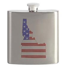 Idaho Flag Flask