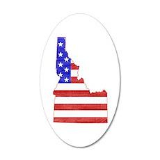 Idaho Flag Wall Decal