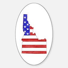 Idaho Flag Decal