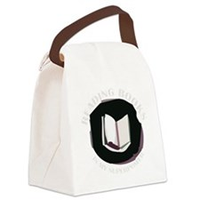 reading books is my superpower fo Canvas Lunch Bag