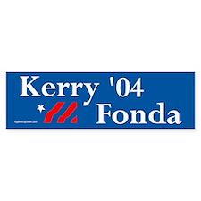 Kerry Fonda Bumper Bumper Sticker