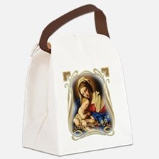 Mary was Pro-Life (square) Canvas Lunch Bag