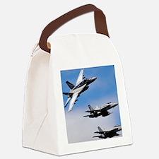 CP-SMPST 081006-N-7981E-336 -pr Canvas Lunch Bag