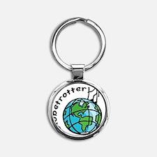 globetrotter Round Keychain