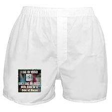 I Like my Women Like I Like M Boxer Shorts