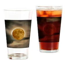 MOON shirt Drinking Glass