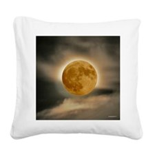 MOON shirt Square Canvas Pillow