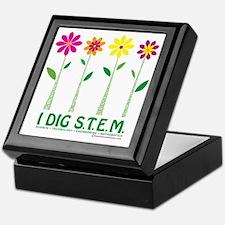 Flower Design STEM Keepsake Box