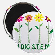 Flower Design STEM Magnet