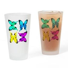 butterflies for store Drinking Glass
