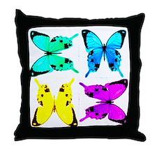 butterflies for store Throw Pillow