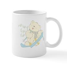 Winter Ski Bear Mug