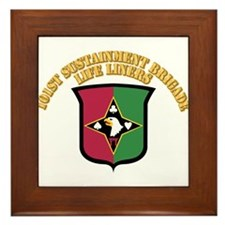 DUI - 101st Sustainment Brigade With Text Framed T