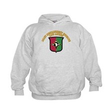 DUI - 101st Sustainment Brigade With Text Hoodie
