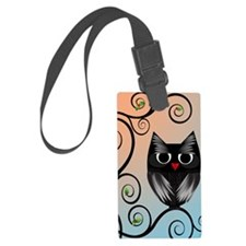 owl-new-journal-size-2-21-11 Luggage Tag