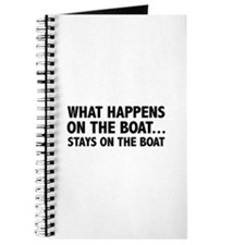 What Happens On The Boat... Journal