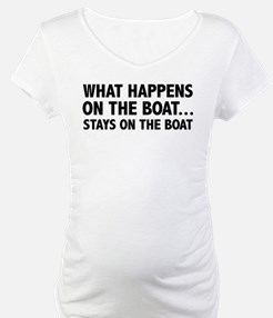 What Happens On The Boat... Shirt