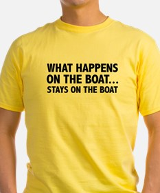 What Happens On The Boat... T