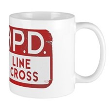 NOPD SIGN red zazzle.gif Mug