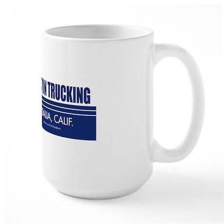 Burton Trucking Bumper Large Mug